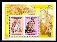 Congo 2006 oiseaux chouettes bloc neuf ** 1er choix