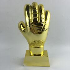 """9.4"""" Soccer Football Resin Goalkeeper Golden Glove Award World Cup Trophy"""