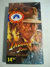 Indiana Jones and the Temple of Doom (VHS, 1989)