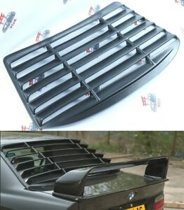 BMW 3 E36 Coupe Rear Window Louver Blind Spoiler  Car Parts 2 Door ABS plastic