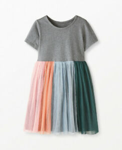Hanna Andersson Rainbow Dress In Soft Tulle
