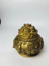 Boite en bronze orientale