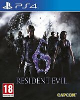 Resident Evil 6 Remastered For PS4 (New & Sealed)