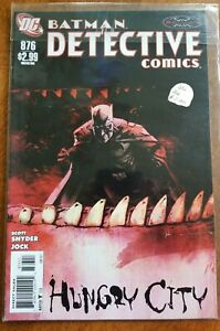 BATMAN DETECTIVE COMICS #876 DC COMICS  1 BOOK  COMIC LOT