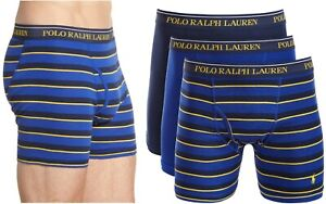 Polo Ralph Lauren 3 Pack Classic Fit Combed Cotton Boxer Briefs, Choose Size
