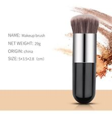 Chubby Pier Foundation Brush Flat Cream Makeup Brush Professional Cosmetic tool