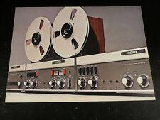 ReVox Prospekt 1969 oder 1971