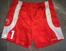 Short Uhlsport Goal Nîmes Olympique T. XL Gardien De But Maillot Porté