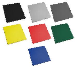 Fortelock PVC-Vinyl Bodenfliese Easyclick Leder Mittlere Belastbarkeit 2060