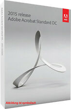Adobe Acrobat Standard DC (2015) OEM VOLLVERSION - Windows  - Deutsch -