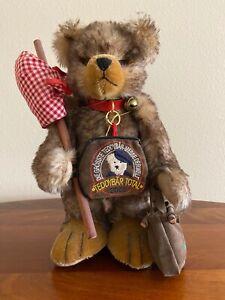vintage hermann teddy bear 2001