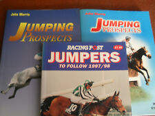 COLLECTION OF JUMPING PROSPECTS HORSERACING  BOOKS