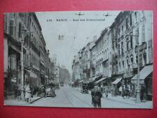NANCY  :  La Rue des Dominicains.