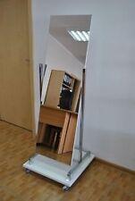 Rollspiegel Spiegel Ladenausstattung Ladeneinrichtung Standspiegel rollbar Neu