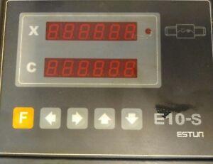 Estun E10-S Digital Readout for Carter Guillotine