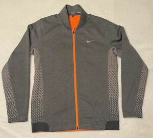 Nike Tiger Woods TW Pullover Sweater Jacket 708090 - Charcoal Gray - Mens Medium