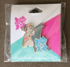Mascot Shooting London 2012 Olympics Pin NEW