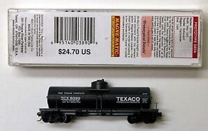 MTL Micro-Trains 65680 Texaco TCX 8099 FW Factory Weathered