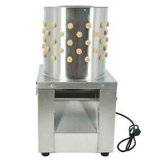 Geflügelrupfmaschine Rupfmaschine Nassrupfmaschine  230R/min / Wachteln  Tauben