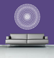 Wall Decal Vinyl Sticker Mandala Ornament Indian Geometric Moroccan r586