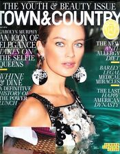 TOWN & COUNTRY MAGAZINE MAY 2016 ISSUE YOUTH & BEAUTY/WHINE-DINE/CAROLYN MURPHY