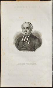 Retrato (1834) - Pierre-Joseph Triest ( Abbot ) - Bruselas