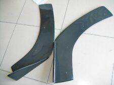 Universal Carbon Fiber Front Bumper Spoilers Splitters Corners Canards D Style