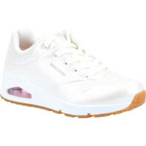 Skechers Womens Uno Pearl Queen Lace Up Sports Trainers