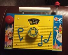 Fisher Price Tv Radio Carrying Toy The Farmer In The Dell Musicial Toys Works