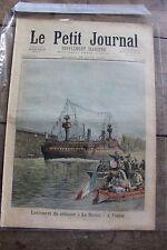 Petit journal illustré N°144 1893 Le Suchet à Toulon Prise de Thiassale