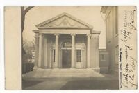 RPPC Himmelreich Library LEWISBURG PA Union County Real Photo Postcard