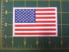 "American Flag Us flag Usa Flag patch 3.5"" wide"