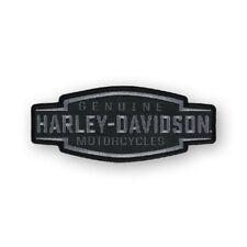 """Harley-Davidson Aufnäher Emblem """"VELOCITY TEXT"""" Abzeichen Patch klein *EM327802*"""