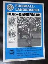 DDR-Dänemark-Fußball-Länderspiel-10.09.1986-Leipzig Zentralstadion