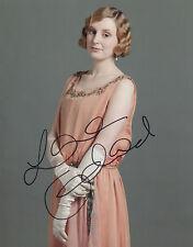 LAURA CARMICHAEL Signed 10x8 Photo Lady Edith Crawley In DOWNTON ABBEY COA
