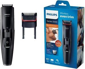 NEW Philips BT5200/16 Series 5000 Beard trimmer Washable Black_UK
