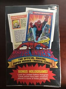 1990 Impel Marvel Universe Series Trading Card Factory Sealed Box