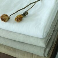 100% Pure Linen Bed Sheet Cover Bedsheet French Flax Organic Natural Flat Green