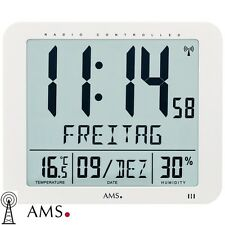 Ams 5886 reloj de pared mesa radio digital Oficina despertador
