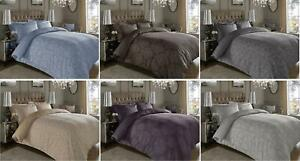 600TC Thread Count Jacquard Cotton Rich Luxury Duvet Cover Set With Pillow Case