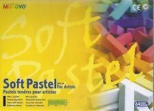 Mungyo Soft Pastels 64 Colors! ~ Pastel Set ~ Free Shipping!