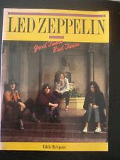 LIVRE BOOK RARE 1991 LED ZEPPELIN GOOD TIMES EN ANGLAIS 64 PAGES + PHOTOS MUSIC