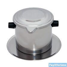 Vietnamese Vietnam Coffee Ca Phe Phin Filter Press Maker Large 8 oz