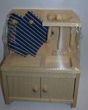 Casa delle bambole Armadio cucina con Cucchiaio tavola 22116 Rülke