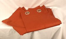 "Company Store Room Darkening Window Panel Terracotta 96"" Nwd 305S Gp90"