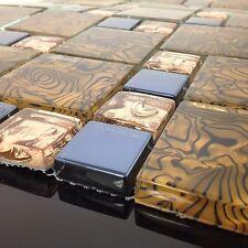 BELLISSIMO alta qualità VETRO MOSAICO muro tiles-kitchen / Bagno #J 01 (esempio)