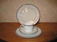WINTERLING BAVARIA *NEW* SYPMPHONIE BLEU Set 2 assiettes + 1 tasse à thé a/souc
