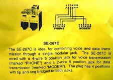 SUTTLE SE-267C 2-LINE
