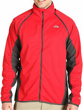 The North Face Short Track Jacket Mens GORE WINDSTOPPER TNF Red/Grey M New $199
