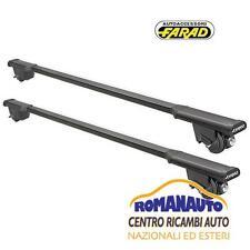 *Barre Portatutto FARAD FIAT DOBLO' Malibu 2002-2010 Rails Iron+Sm (Portapacchi)